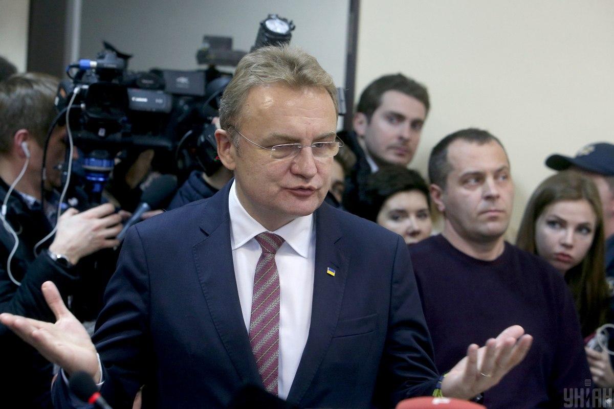 По словам Садового, он не хочет создавать каких-либо неудобств своим друзьям и знакомым / УНИАН