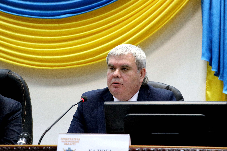 Новый прокурор Запорожской области собирается бороться с коррупцией и ОПГ / zap.gp.gov.ua