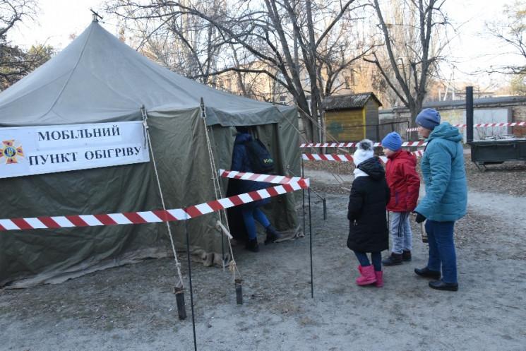 В школах Светловодска все еще нет тепла / фото: УГСЧС