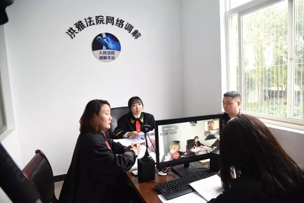 Заседание суда провинции Сычуань по делу о продаже героя из Justice Online / gameapps.hk