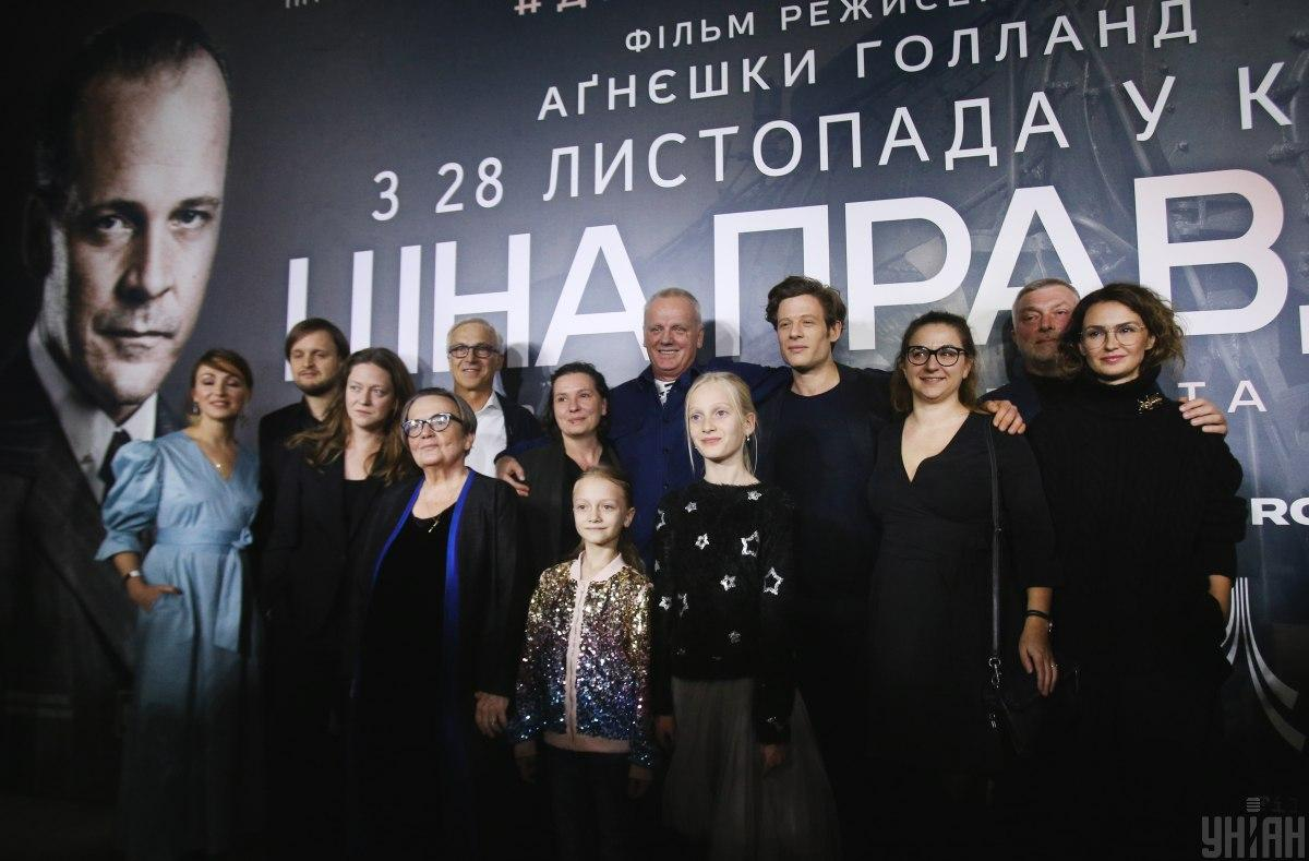 Режиссер фильма Агнешка Голланд \ УНИАН