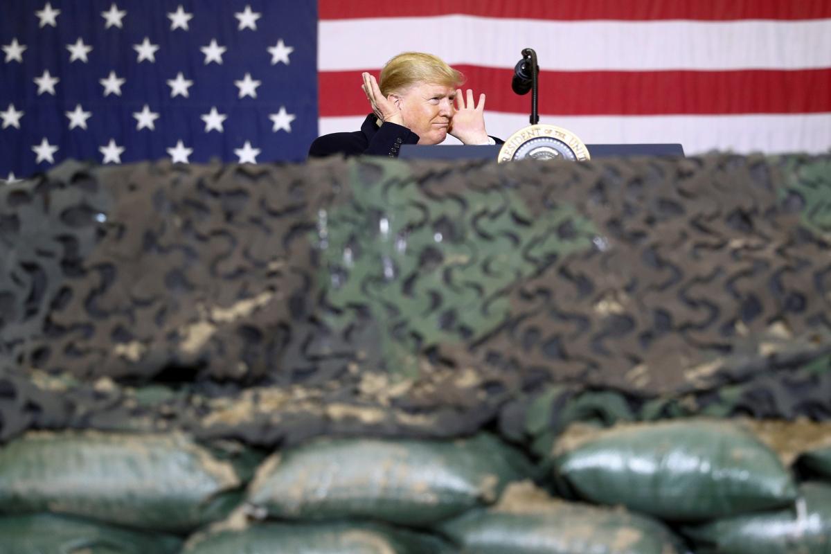 Дональд Трамп в Афганістані / REUTERS