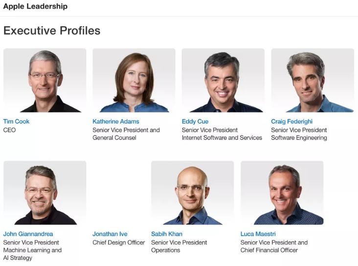 На офіційному сайті корпорації зникла фотографія Айва