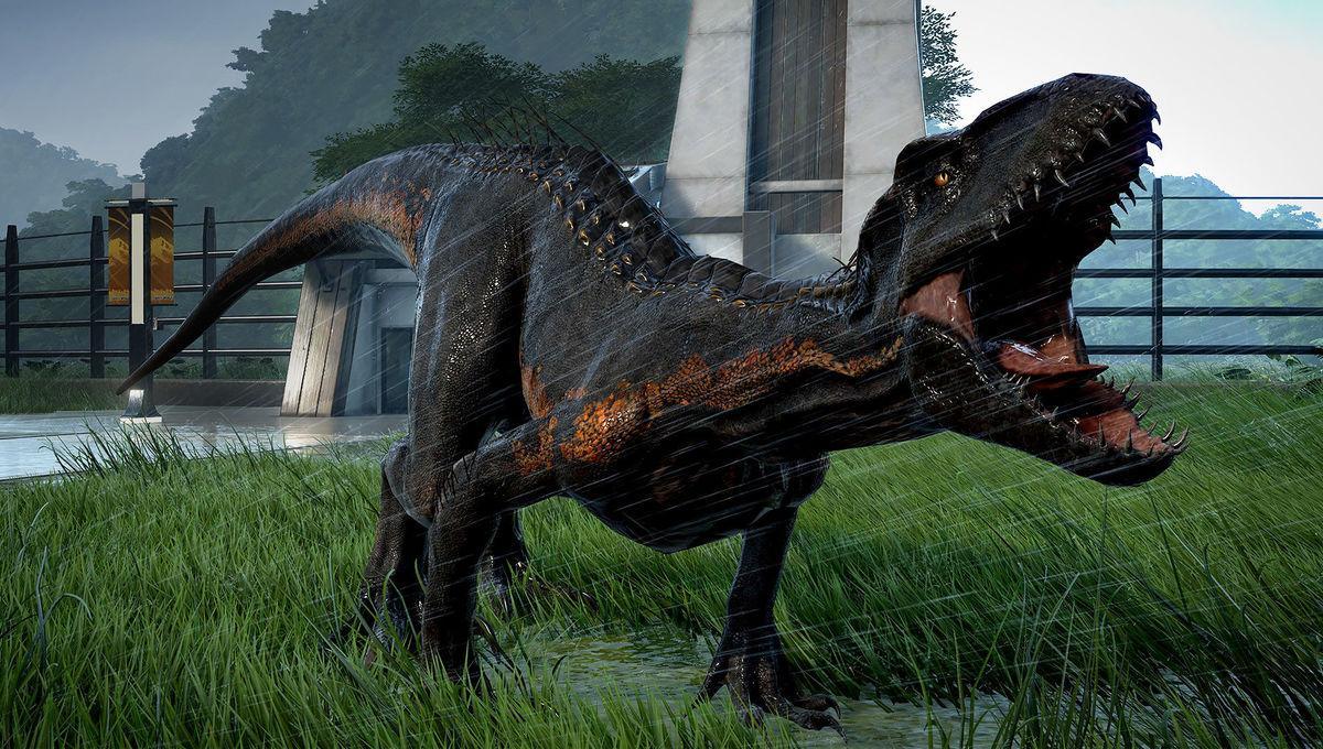 В Jurassic World Evolution нужко создать свой парк развлечений с динозаврами / syfy.com