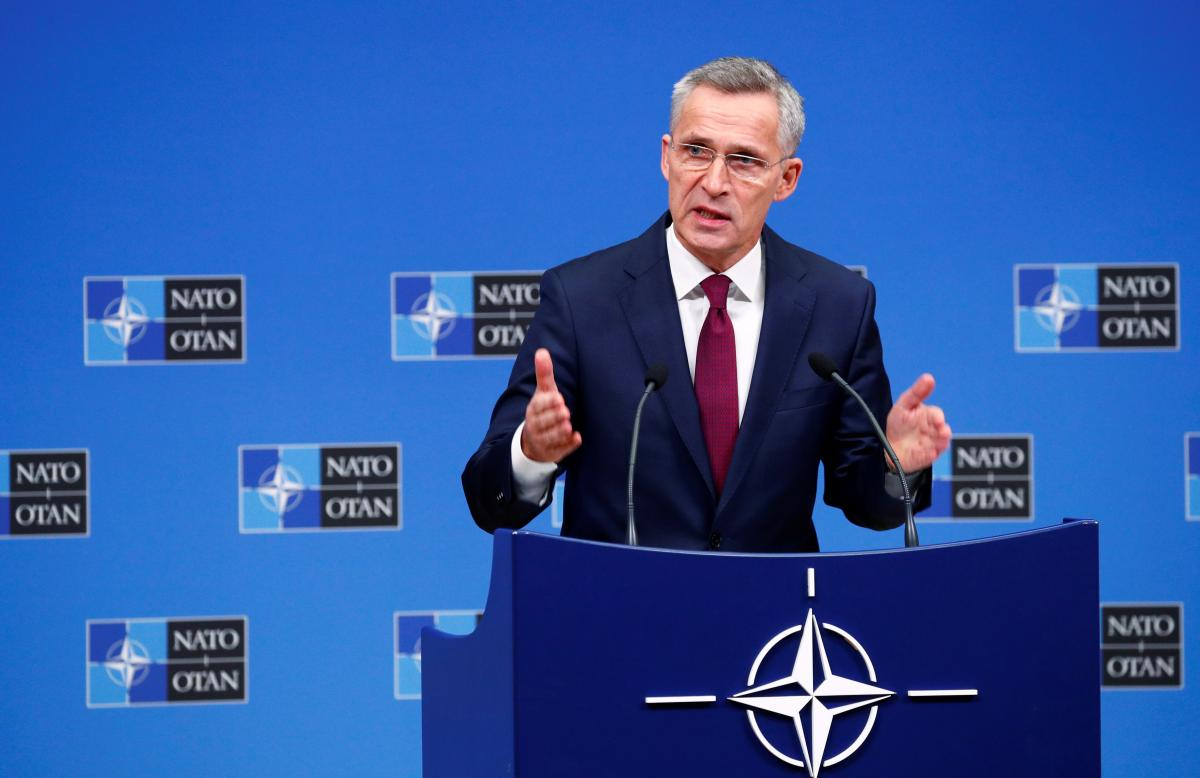 Stoltenberg assures Ukraine of NATO's support amid Russia's military activities / REUTERS