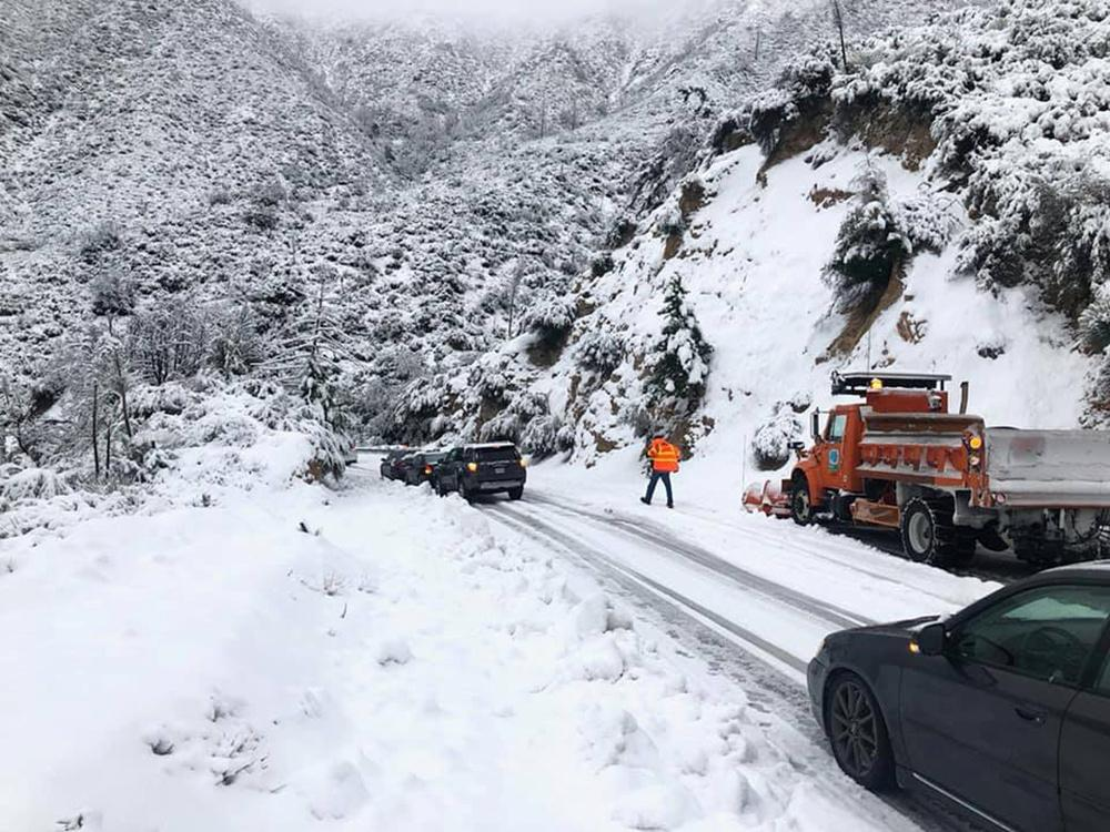 Снегопад в США / REUTERS