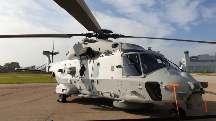 NH90 Sea Lion разработали по заказу ВМС Германии/ фото: NH90 Sea Lion / ©janes