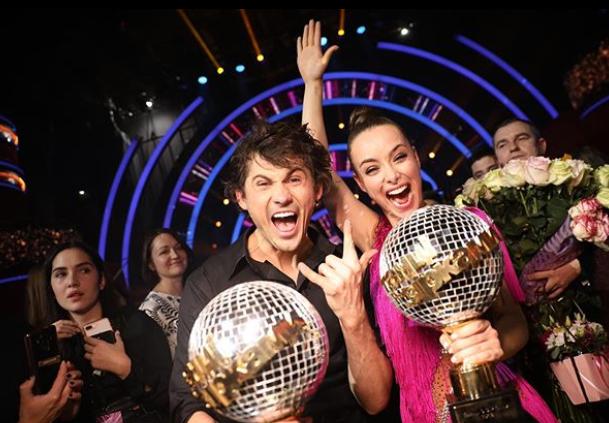 Пара завоевала сердца телезрителей, а танцы завоевали сердце Ксении / instagram.com/misha.k.ua