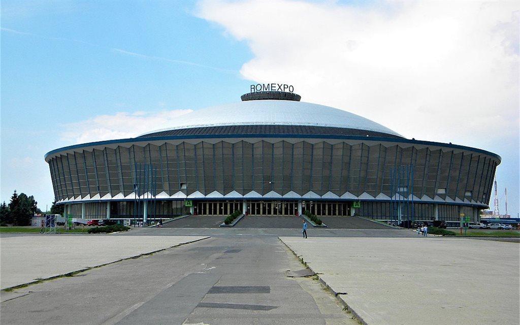 Арена ROMEXPO, на якій пройде жеребкування / фото: eurosport.com