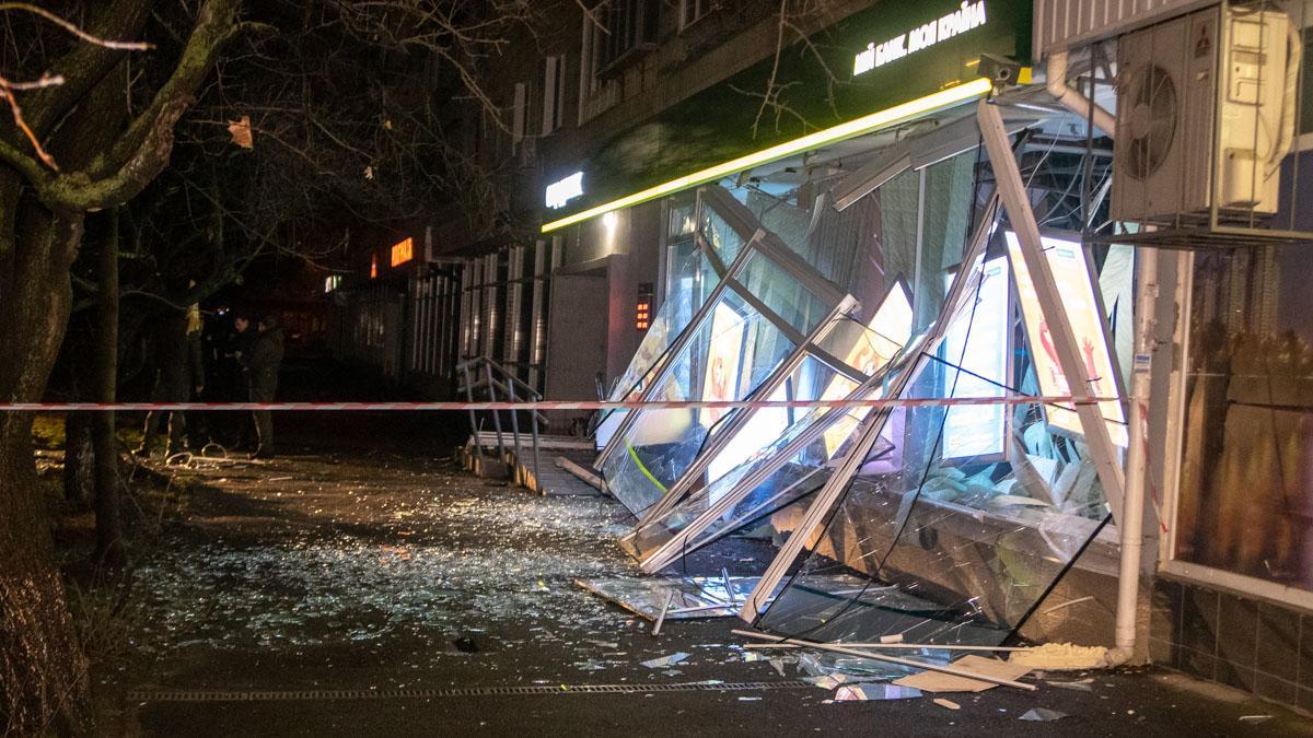 Злоумышленники взорвали банкомат «Сбербанка» / фото informator.ua