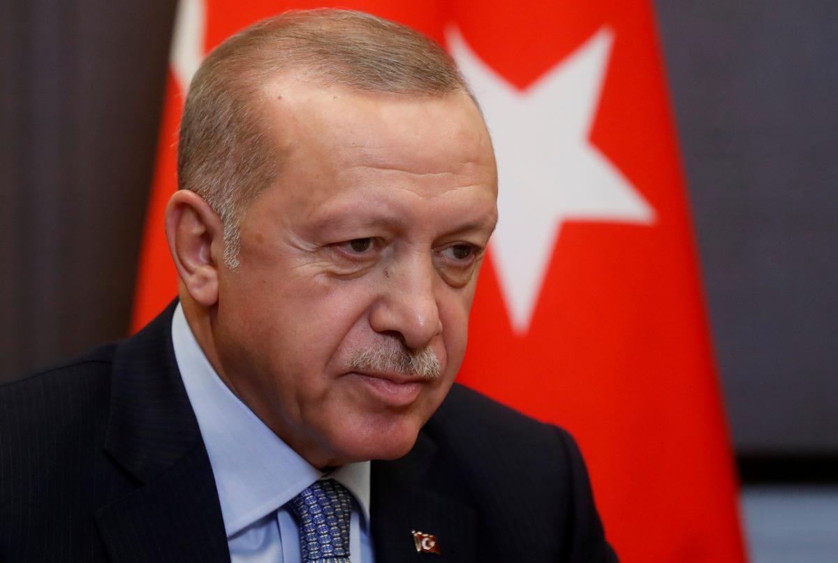 Президент Турции Реджеп Тайип Эрдоган \REUTERS
