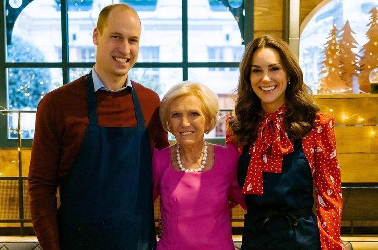 Герцог и герцогиня Кембриджские приняли участие в съемках кулинарного рождественского телешоу / фото: instagram.com/kensingtonroyal