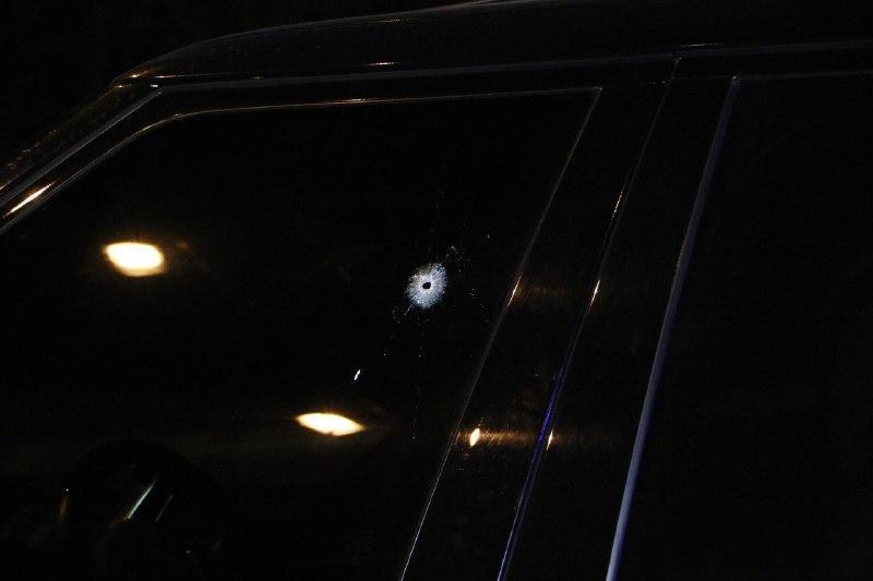 Правоохоронці відслідкували траекторію польоту кулі / фото Інформатор
