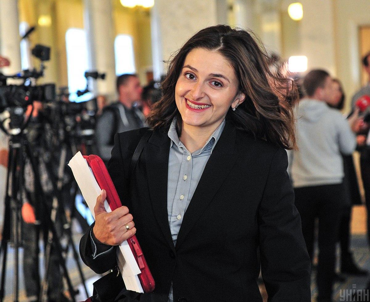 Народный депутат Ольга Василевская-Смаглюк / фото УНИАН