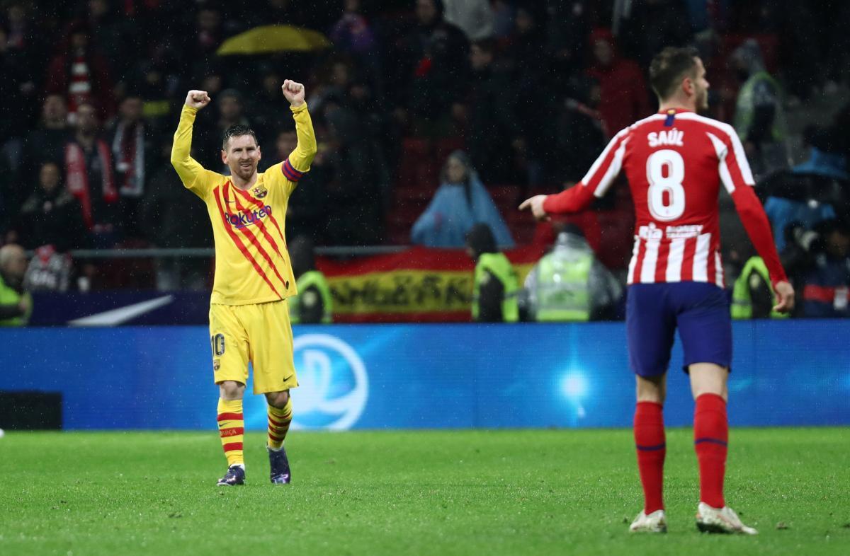 Атлетіко - Барселона / REUTERS