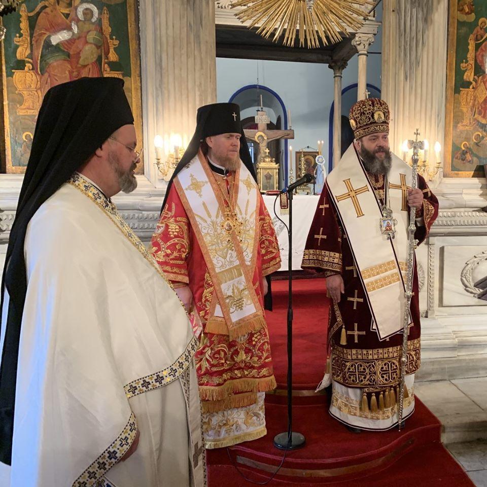 На литургии присутствовали иерархи Православной Церкви Украины / Фото: Facebook
