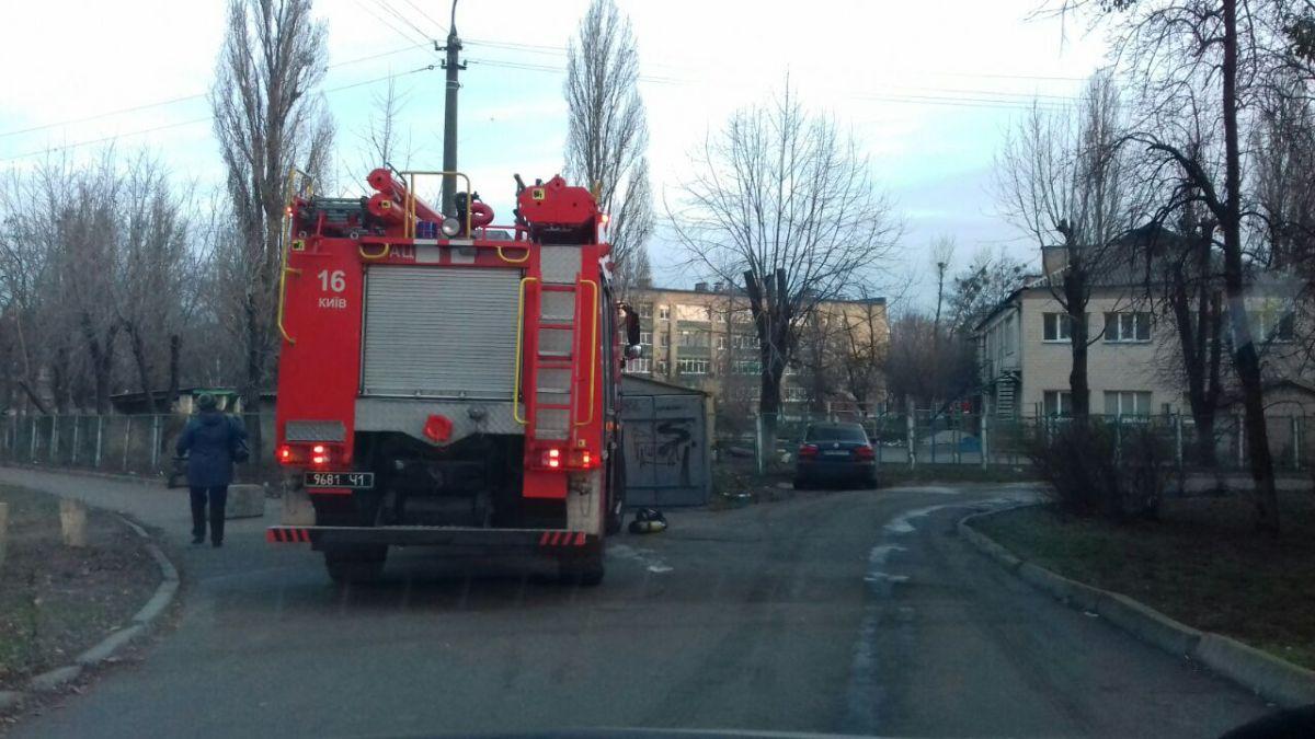 В Киеве произошел смертельный пожар / Информатор