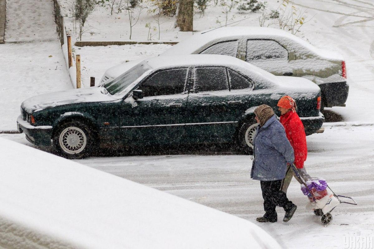 Осадков в Киеве за февраль выпало ровно 100 мм. Устойчивого снежного покрова в столице так и не было / УНИАН