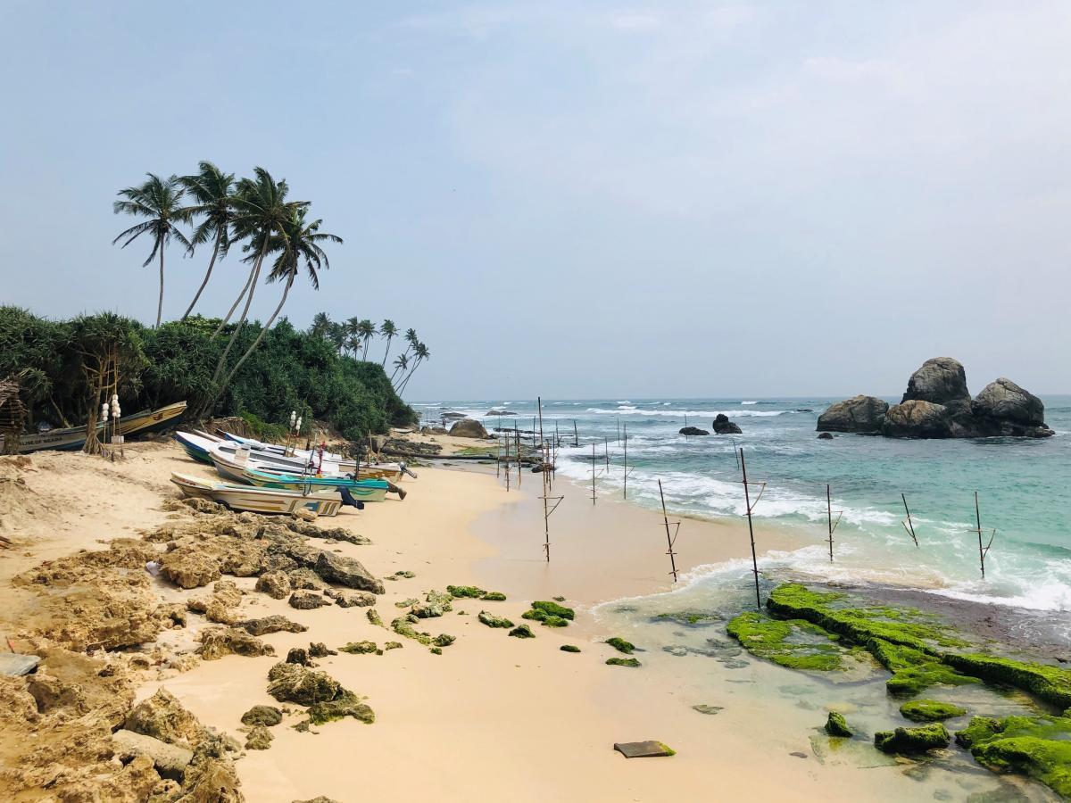 Остров Шри-Ланка находится в 6 600 км от Украины / Фото Вероника Кордон