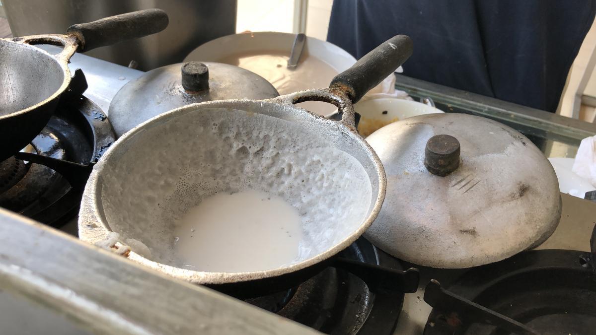 Так готовят блинную чашу / Фото Вероника Кордон