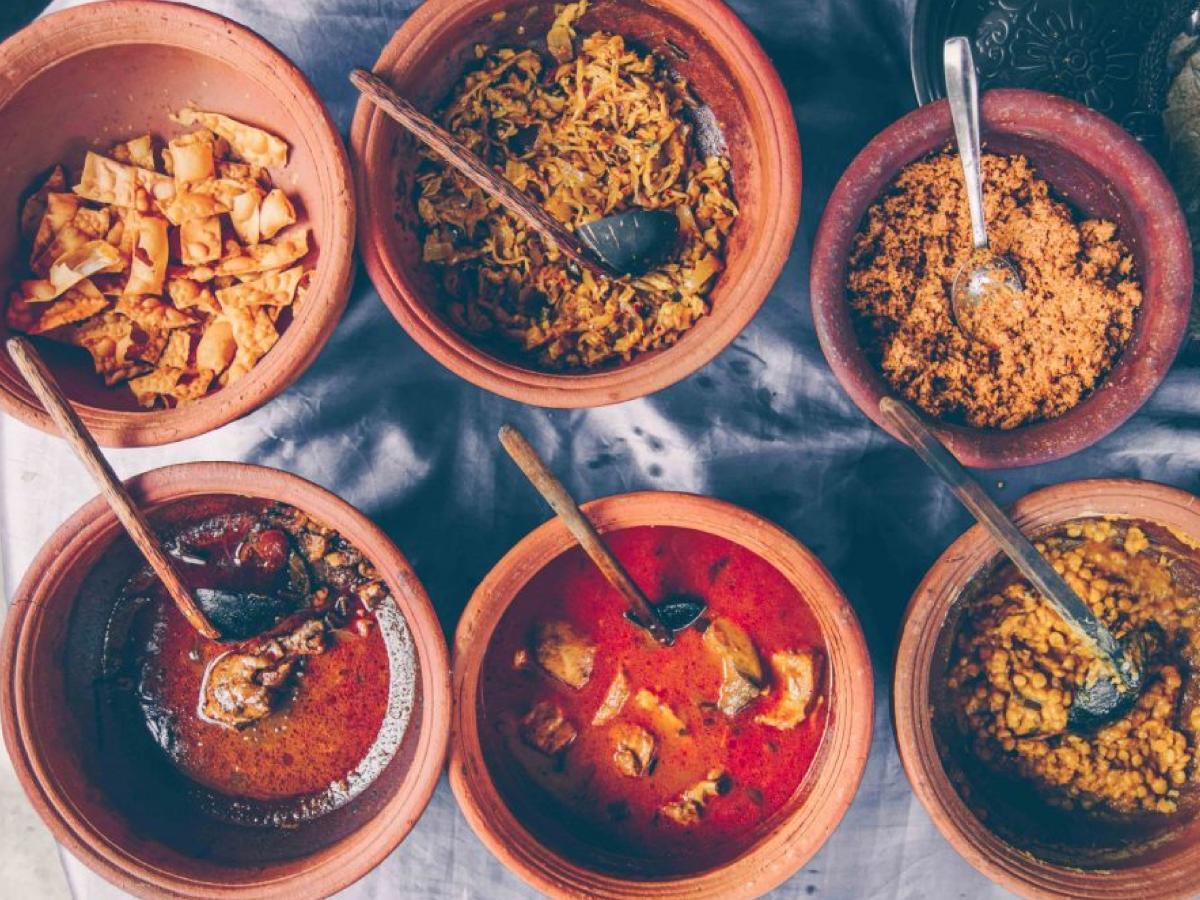 Главное блюдо на Шри-Ланке – карри / Фото Вероника Кордон