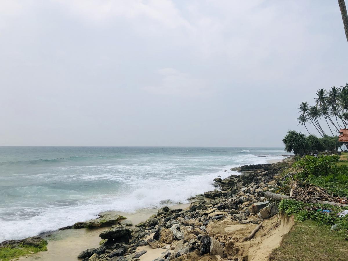 Зона цунами на Шри-Ланке / Фото Вероника Кордон