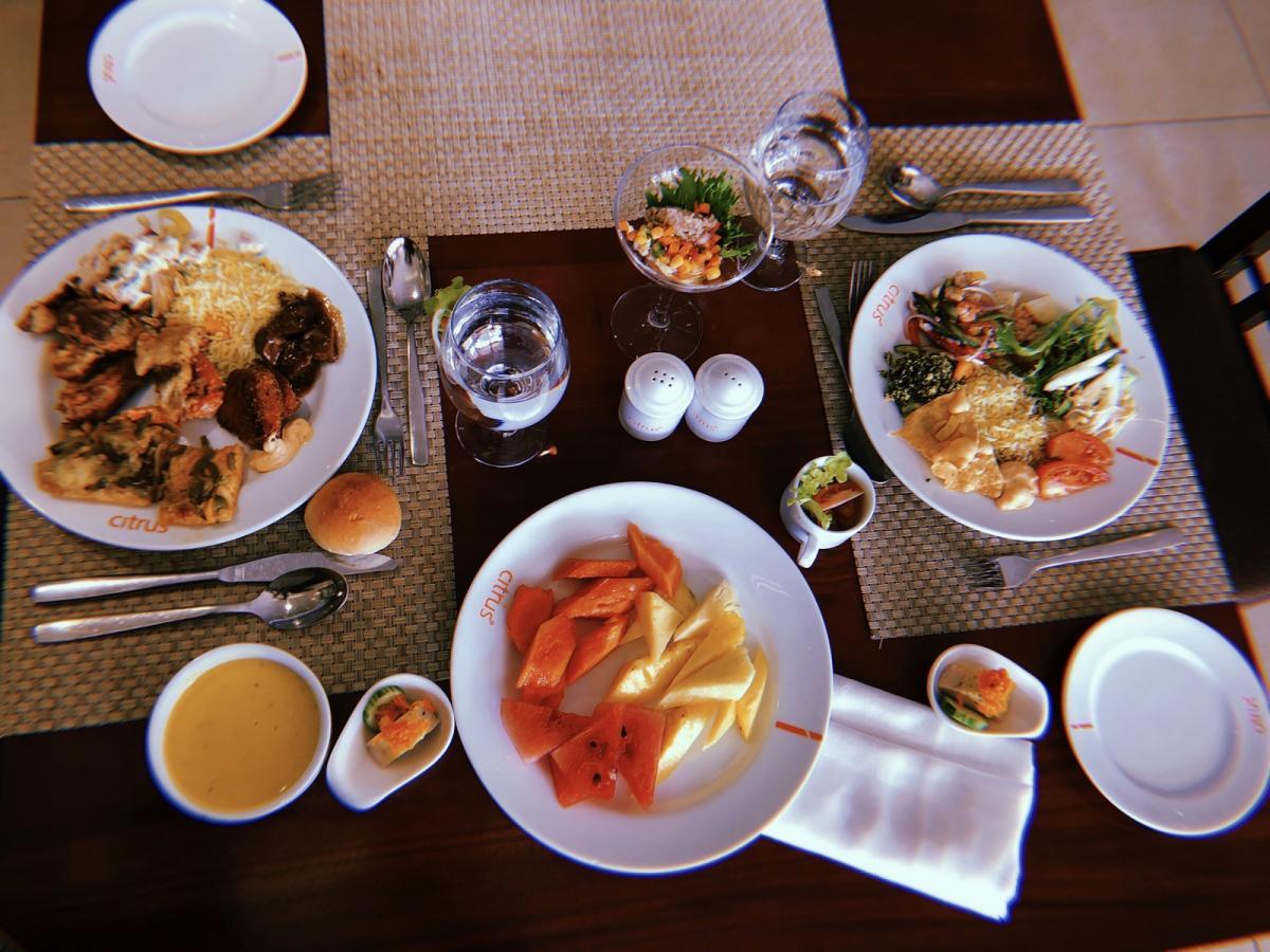 Ланкийские блюда делятся на острые и очень острые / Фото Вероника Кордон