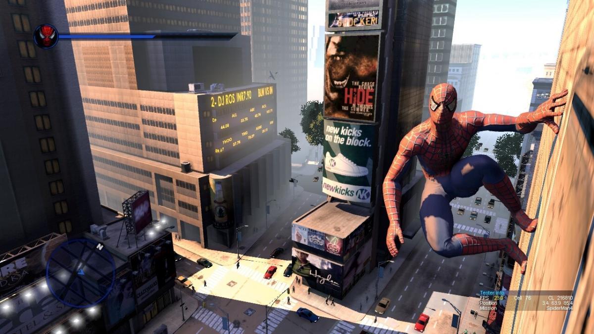Кадр зі скасованої гри по фільму «Людина-павук 4» / wayne_dalton.artstation.com