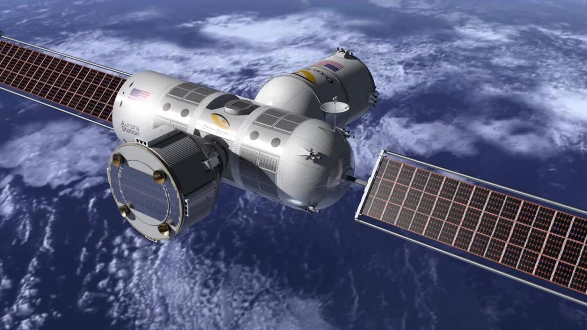 Концепт космічної станції Aurora / фото: Orion Span