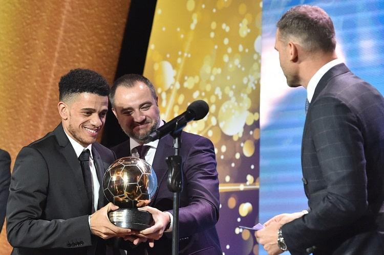 Тайсон признан лучшим футболистом года / фото: УАФ
