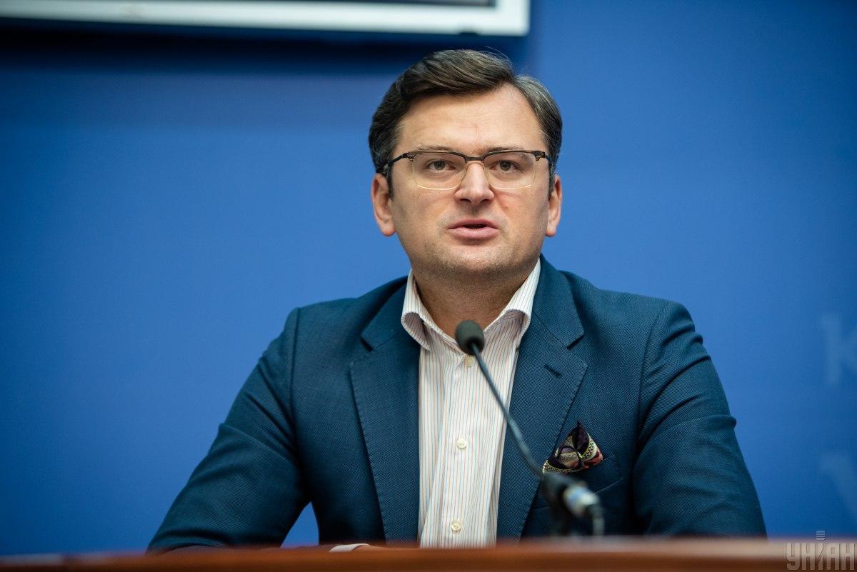 Дмитро Кулеба закликав НАТО розпочати офіційний розгляд заявки України / фото УНІАН