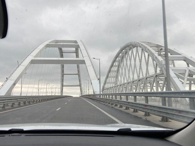 На Крымском мосту появился блокпост / RoksolanaToday&Крым