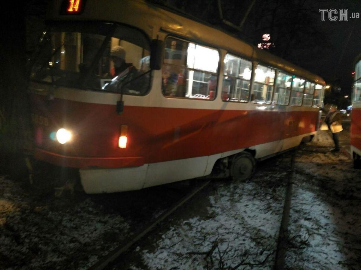 В аварии никто не пострадал / tsn.ua