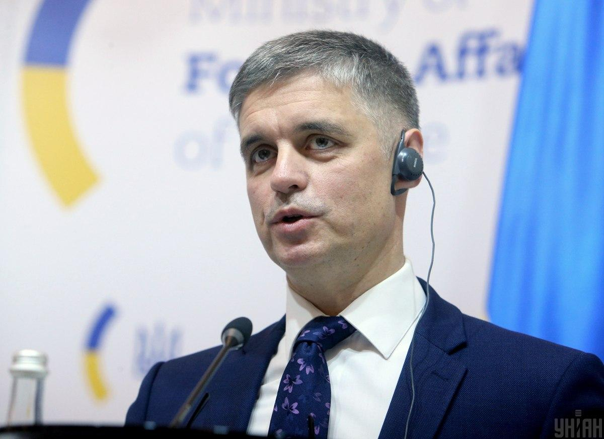 Minister Prystaiko / Photo from UNIAN