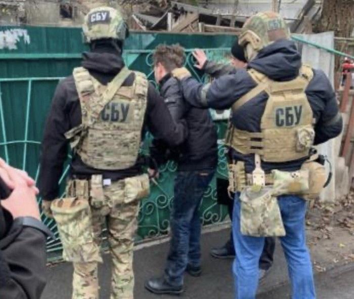 Затриманий поширював матеріали, які мають сепаратистський характер / фото ssu.gov.ua