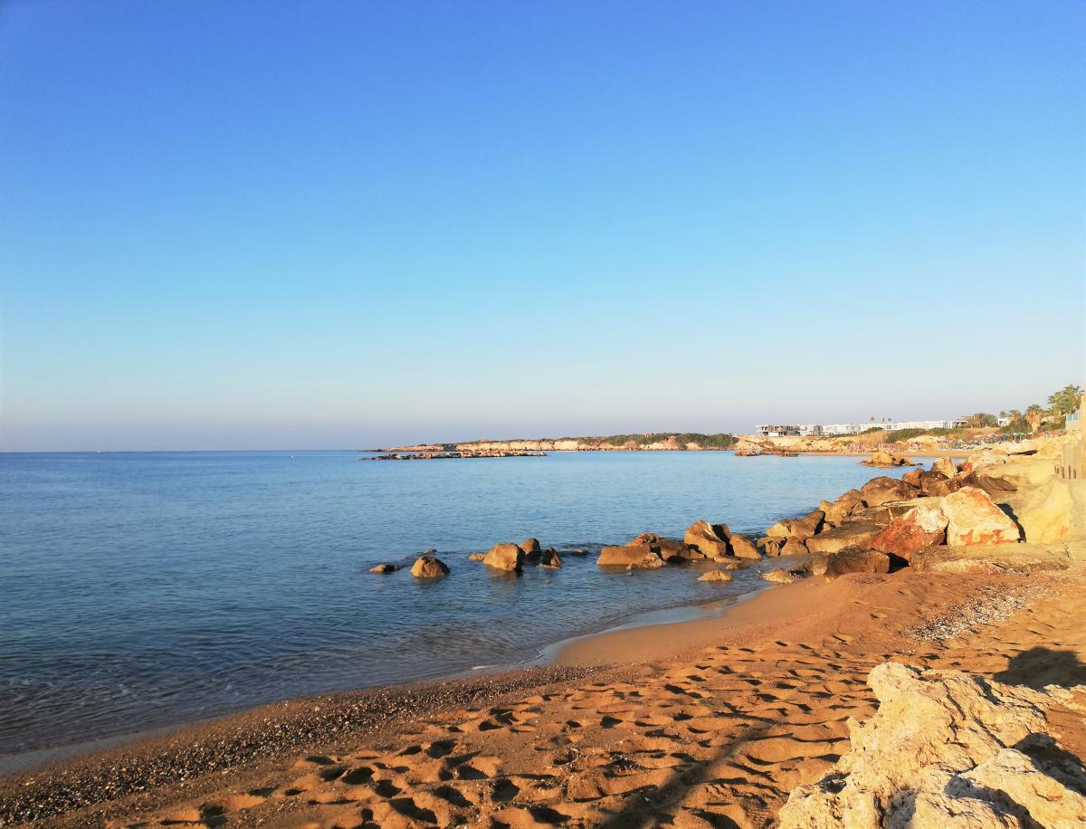 Пляж Coral Bay в Пафосе / Фото Марина Григоренко