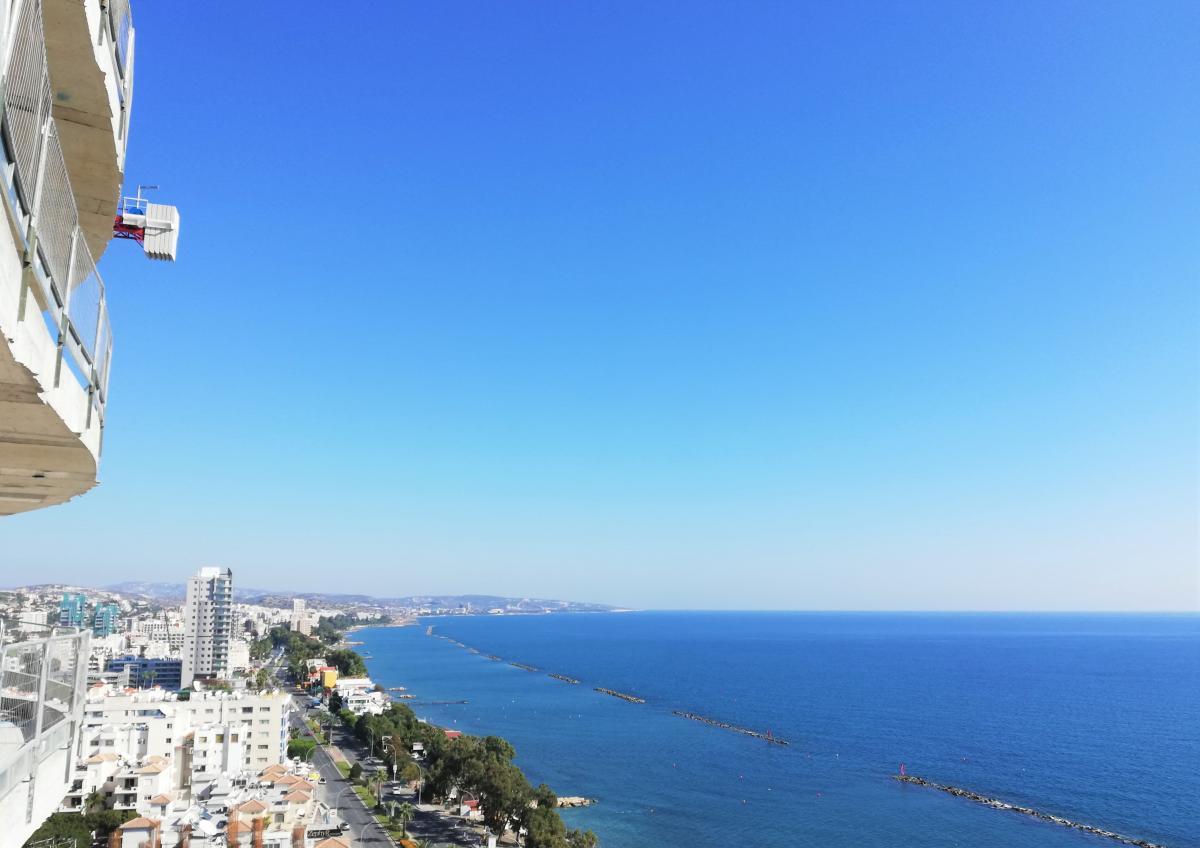 Вид из окон Limassol Del Mar / Фото Марина Григоренко