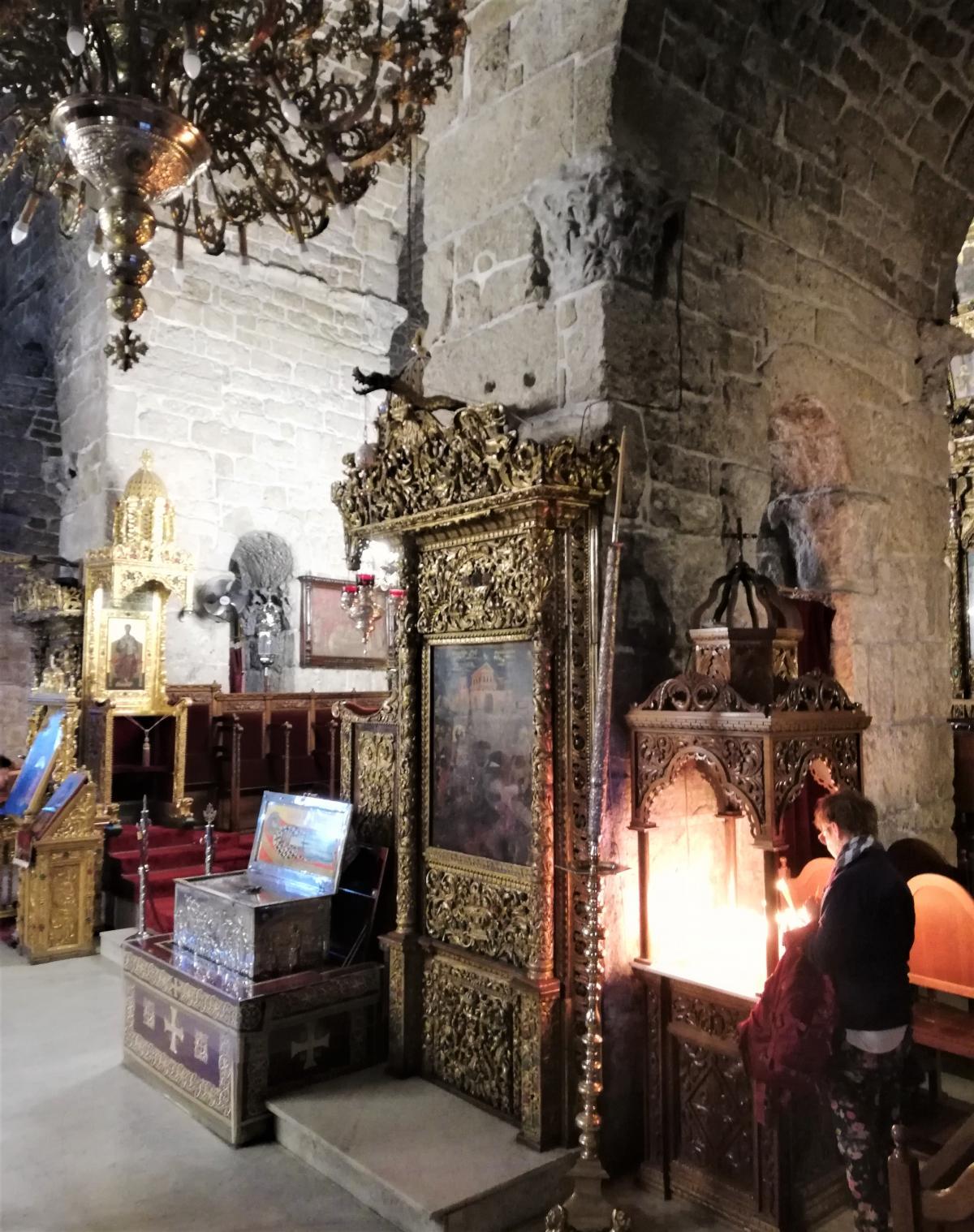 Церковь Святого Лазаря изнутри / Фото Марина Григоренко