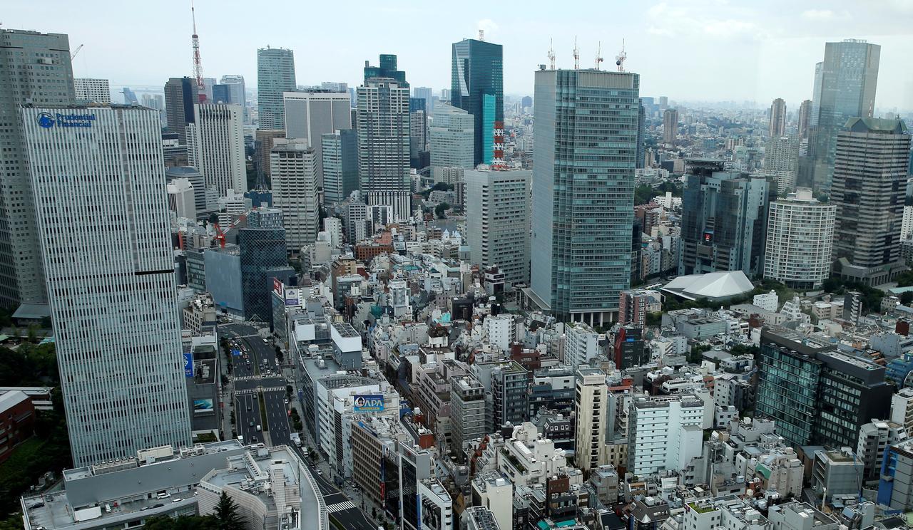 Толчки ощущались в Токио \ фото REUTERS