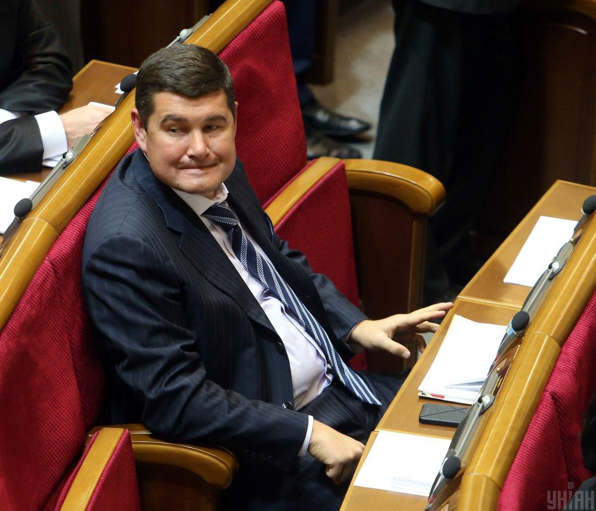 Onyshchenko was stripped ofparliamentary immunity/ Photo from UNIAN