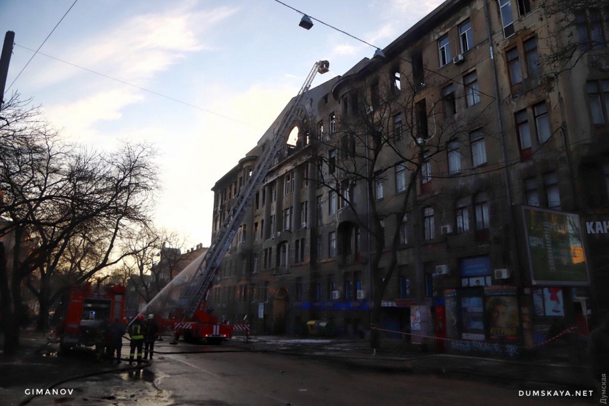 """В сгоревшем колледже также располагались другие учреждения / фото: """"Думская"""""""