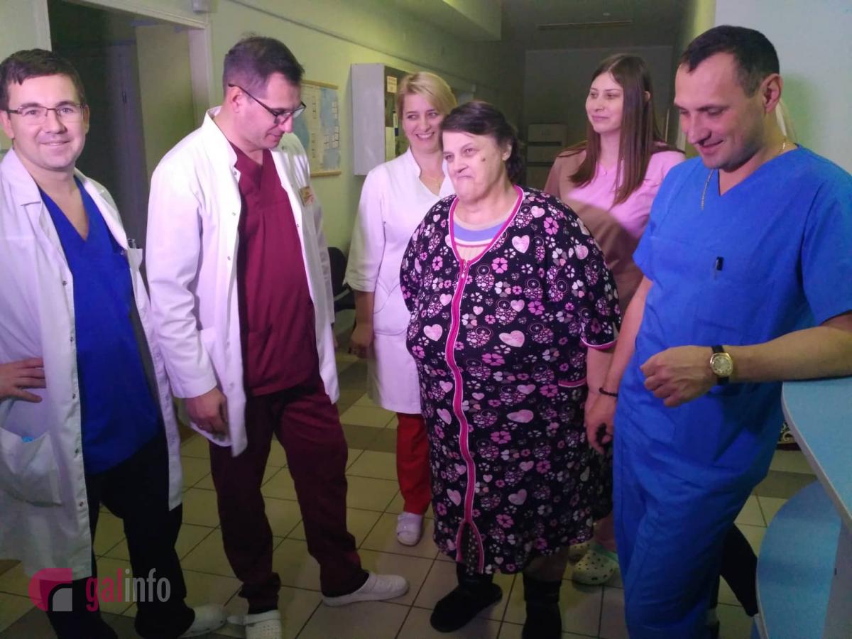Пациентке удалили опухоль / galinfo