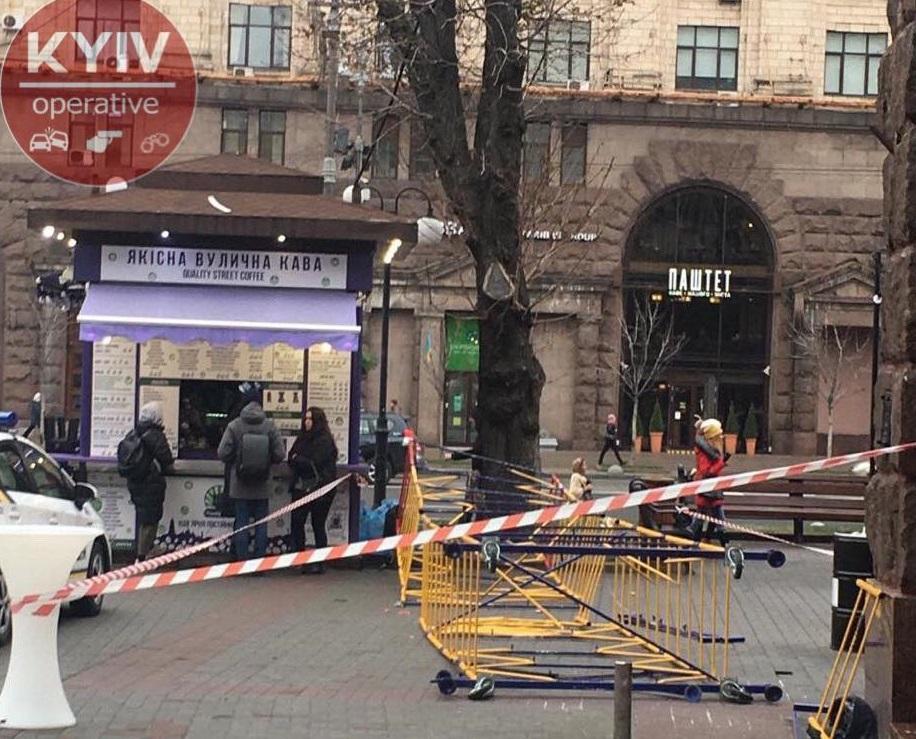 Травмированная женщина попала в больницу \ Киев Оперативный