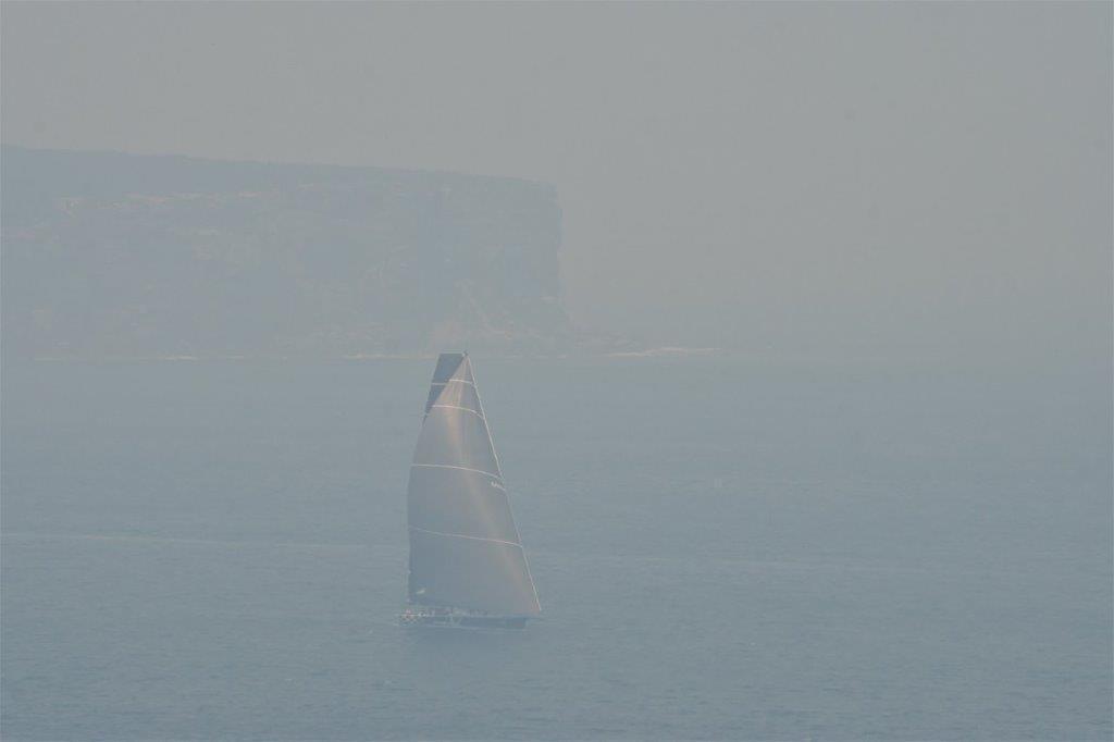 Сідней накрив дим від лісових пожеж / twitter.com/SMCoates