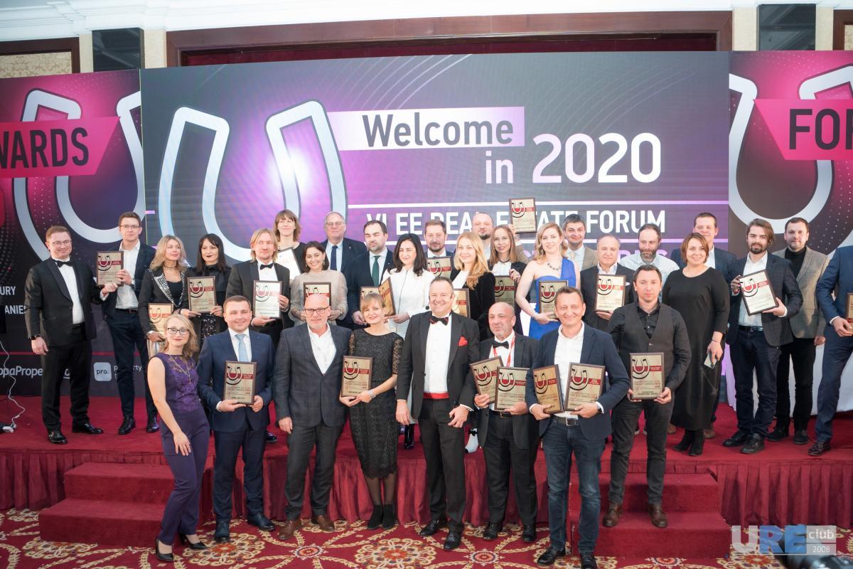 """В цьому році перемогу в головній номінації премії — """"Developer of the Year. Kyiv region"""" здобула Будівельна Група """"Синергія"""""""