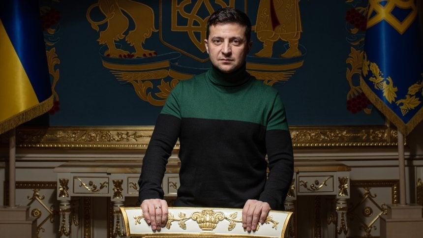 Владимир Зеленский первый президент Украины, который появился на обложке Time / facebook.com/Iuliia Mendel