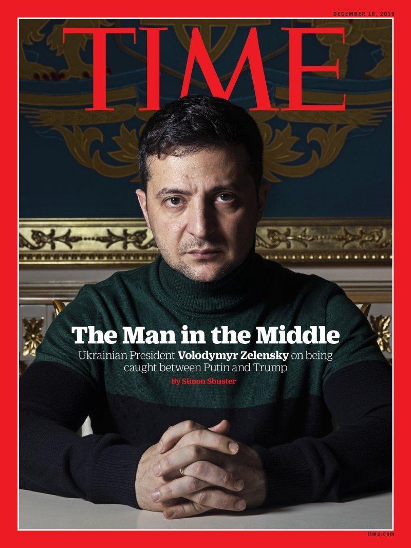 Владимир Зеленский на обложке Time / фото Time