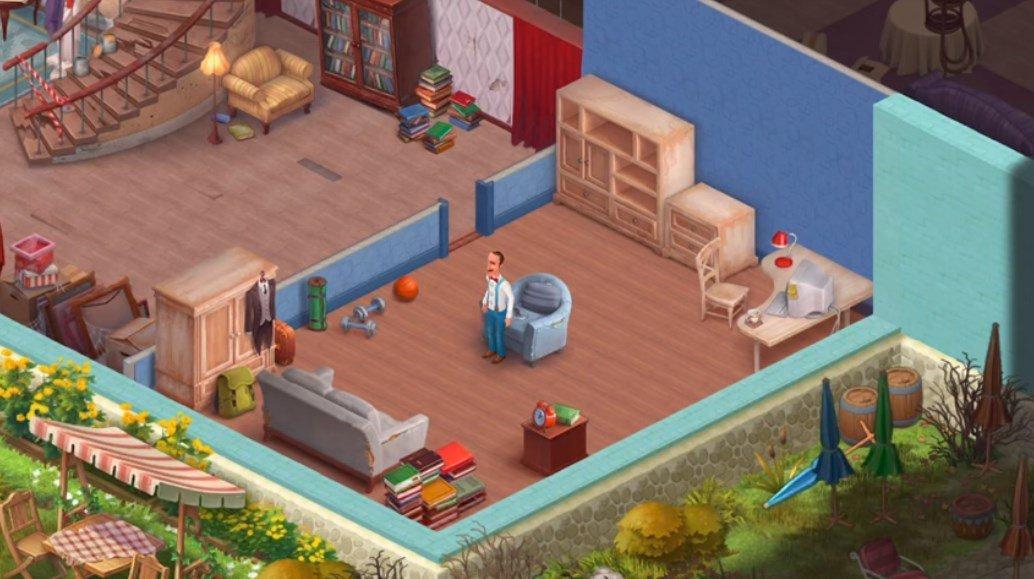 Игра Homescapes от компании Playrix / malavida.com
