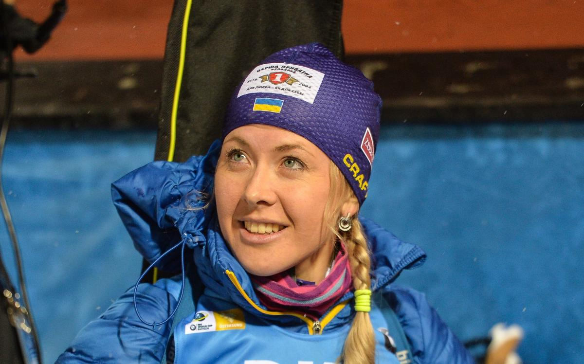 Юлия Джима прошла дистанцию без промахов / фото biathlon.com.ua