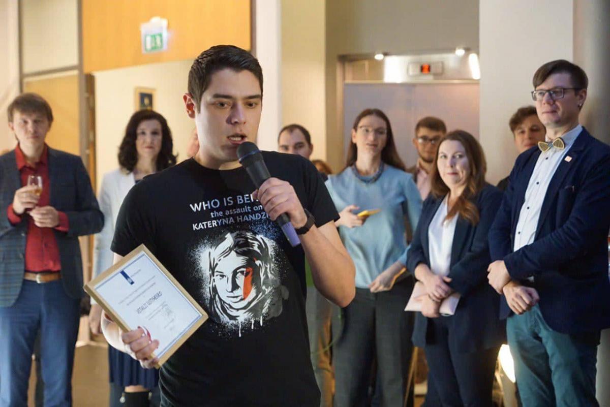 Устименко - керівник одеського осередку Автомайдану / фото: Тетяна Печончик/Facebook